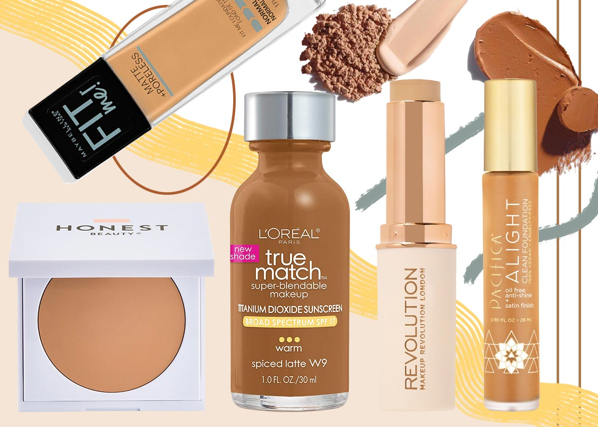 21 Best Drugstore Foundations For Your Skin Type In 2021