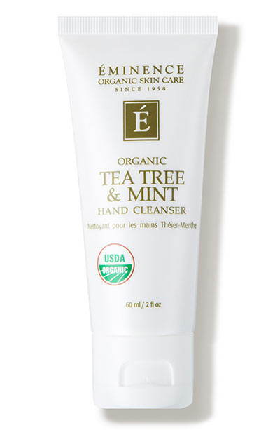 Best Hand Sanitizers: Eminence Organic Skin Care Tea Tree and Mint Hand Cleanser