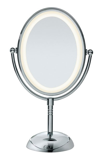 Best Makeup Mirrors with Lights: Conair Double-Sided Lighted Makeup Mirror