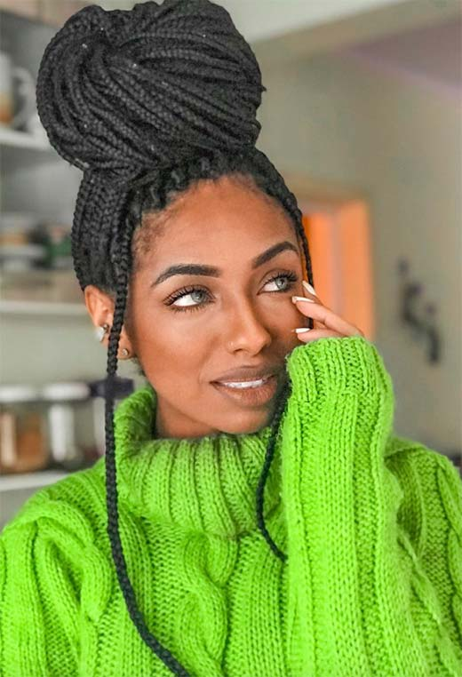 Box Braids Ideas: Box Braid Hairstyles to Inspire