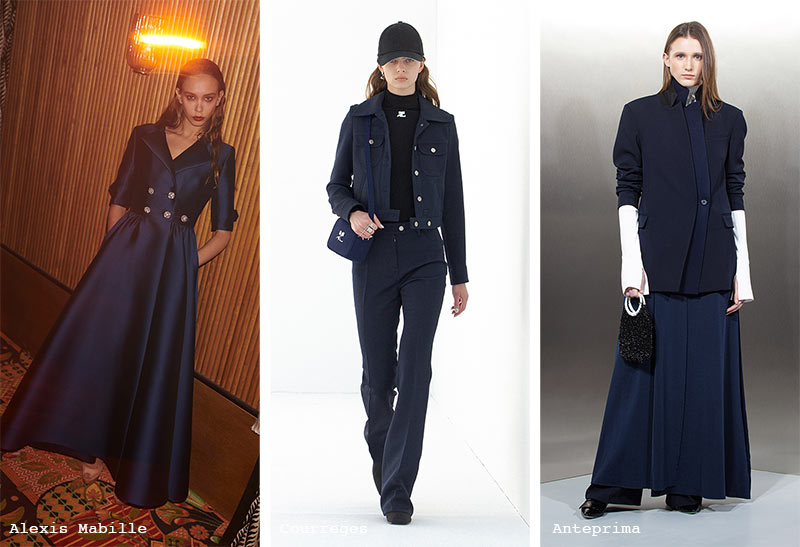 Fall/ Winter 2021-2022 Color Trends: After Midnight