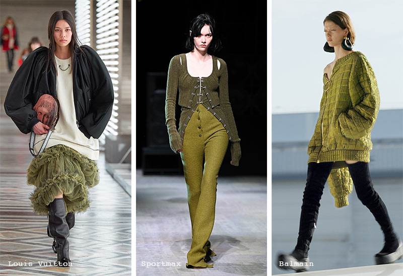 Fall/ Winter 2021-2022 Color Trends: Olive Branch