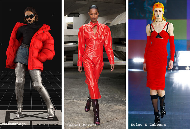 Fall/ Winter 2021-2022 Color Trends: Red Alert
