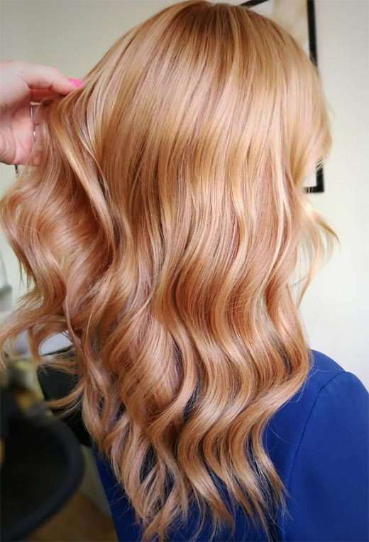 Fashion Tips for Strawberry Blonde Hair Color