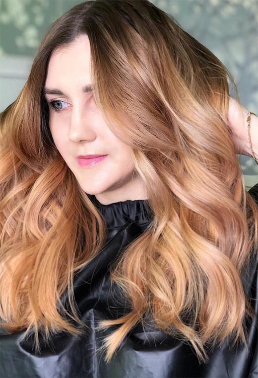 How to Care for Strawberry Blonde Hair Color