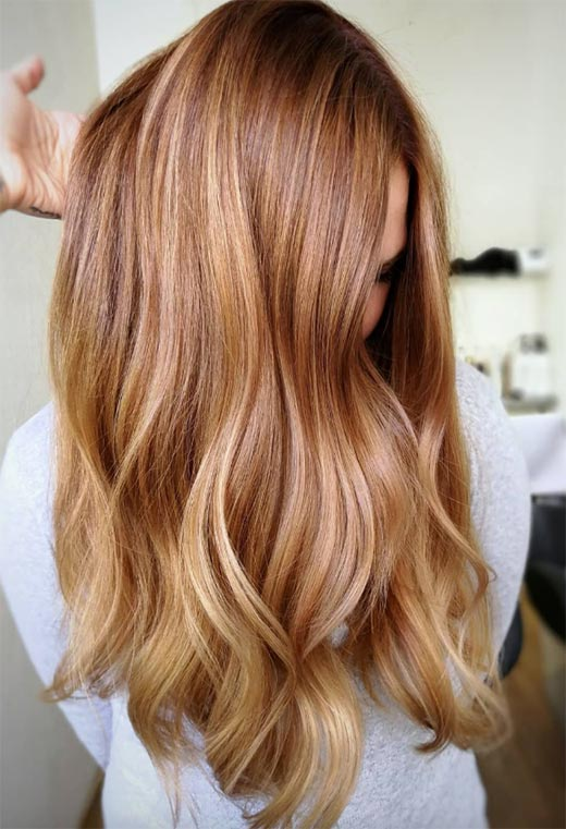 How to Dye Hair Strawberry Blonde at Home