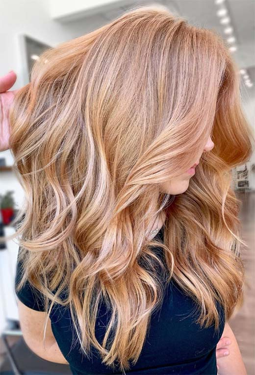 Strawberry Blonde Hair Color Shades: Strawberry Blonde Hair Dye Tips