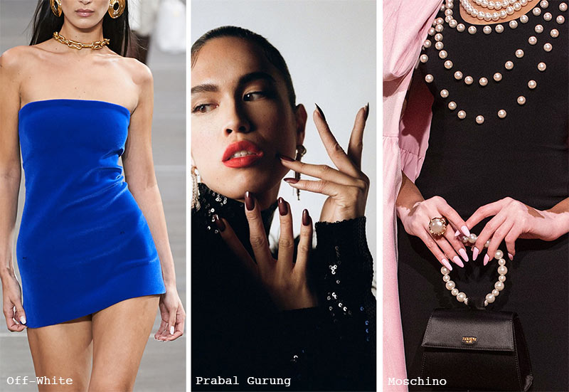 Fall/ Winter 2021-2022 Nail Trends: Oval Nails
