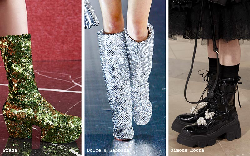 Fall/ Winter 2021-2022 Shoe Trends: Bejeweled Shoes & Boots