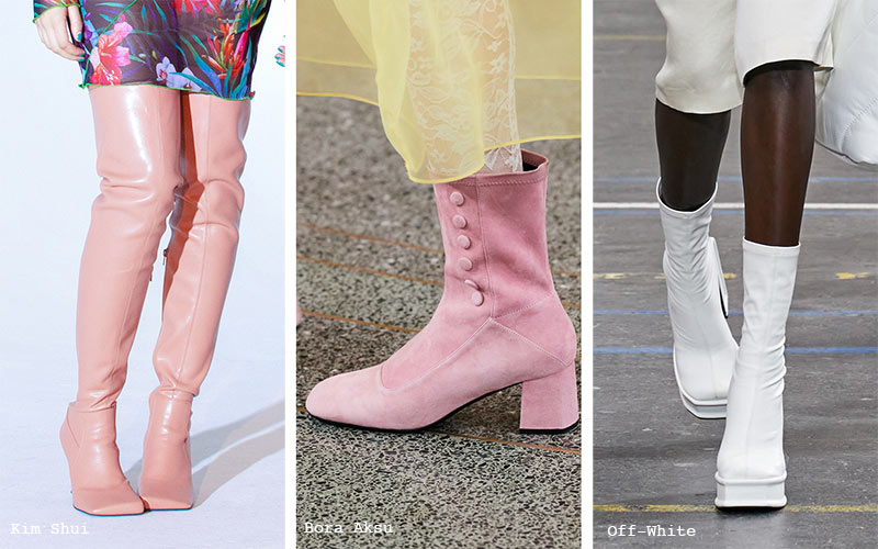 Fall/ Winter 2021-2022 Shoe Trends: Go-Go Boots