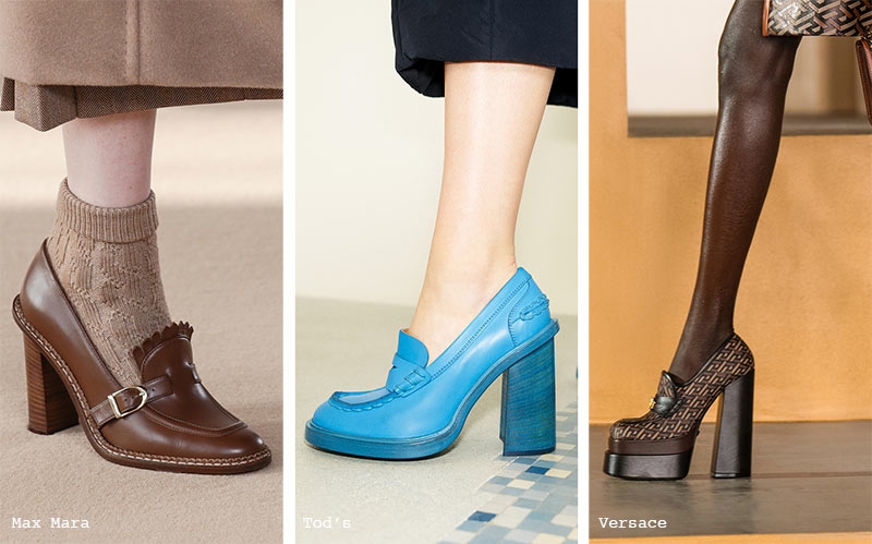 Fall/ Winter 2021-2022 Shoe Trends: Loafers