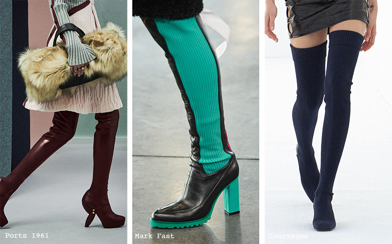 Fall/ Winter 2021-2022 Shoe Trends: Skin-Tight Boots