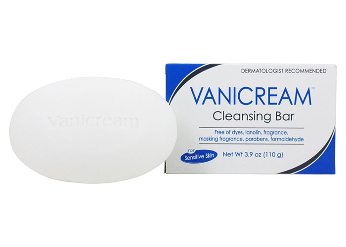 Best Acne Body Washes: Pharmaceutical Specialties Vanicream Cleansing Bar