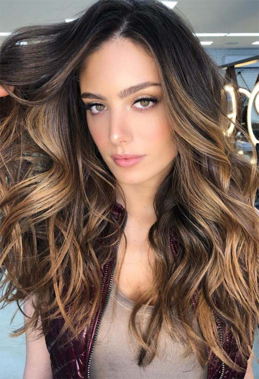 Dark Brown Hair Color Shades: Brunette Hair Color Ideas