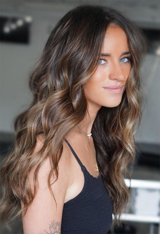 Light Brown Hair Color Shades: Brunette Hair Color Ideas