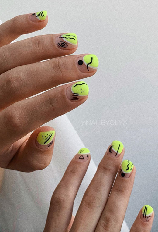 Bright Summer Nails: Summer Nails Designs & Art Ideas