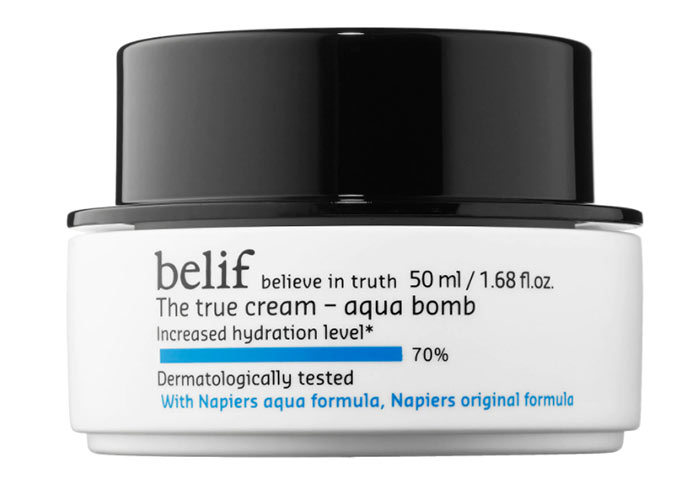 Best Moisturizers for Oily Skin: Belif The True Cream Aqua Bomb