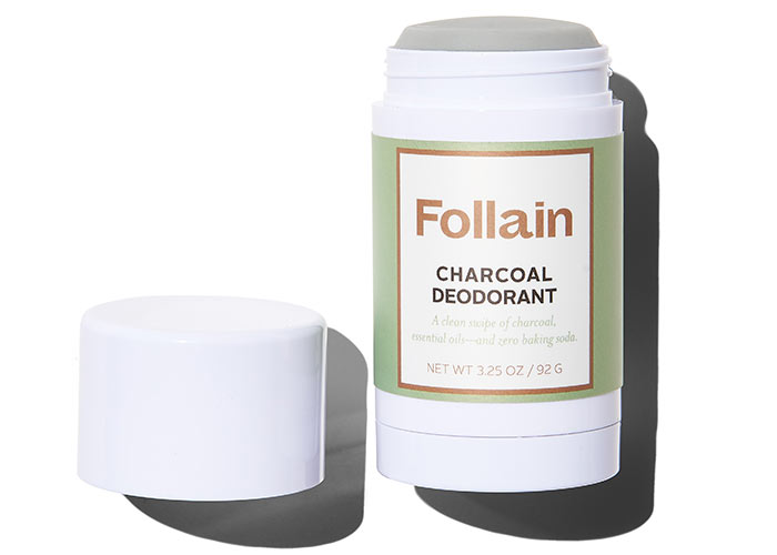 Best Natural Deodorants: Follain Charcoal Deodorant