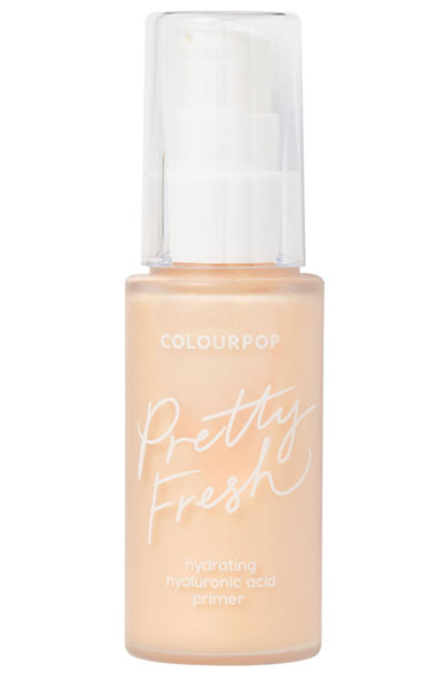 Best Drugstore Primers: Colourpop Pretty Fresh Hydrating Hyaluronic Acid Primer