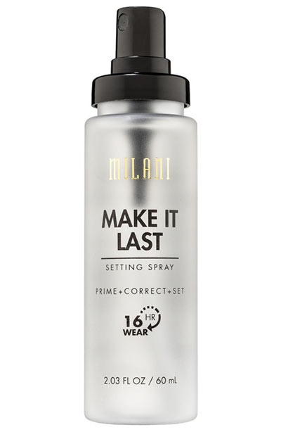 Best Drugstore Primers: Milani Make It Last Setting Spray Prime + Correct + Set