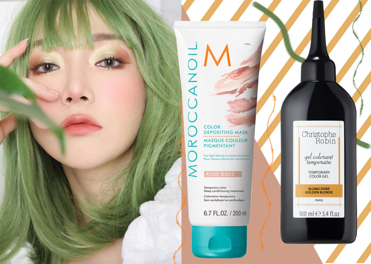 Best Temporary Hair Colors