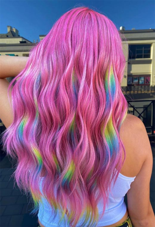 How to Get Holographic Hair?