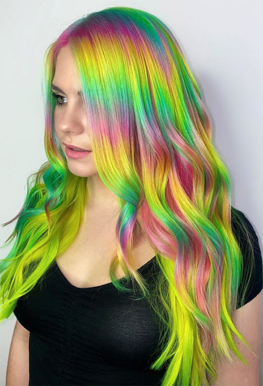 What Is the Holographic Hair Trend About?