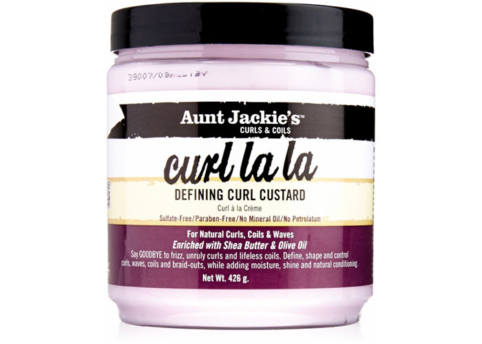 Best Products for Curly Hair: Aunt Jackie's Curl La La Lightweight Curl Defining Custard