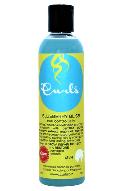 Best Products for Curly Hair: Curls Blueberry Bliss Control Jelly