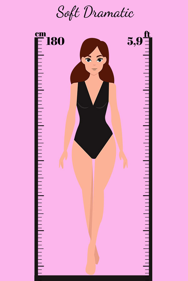 Kibbe Body Types: Soft Dramatic Body Type