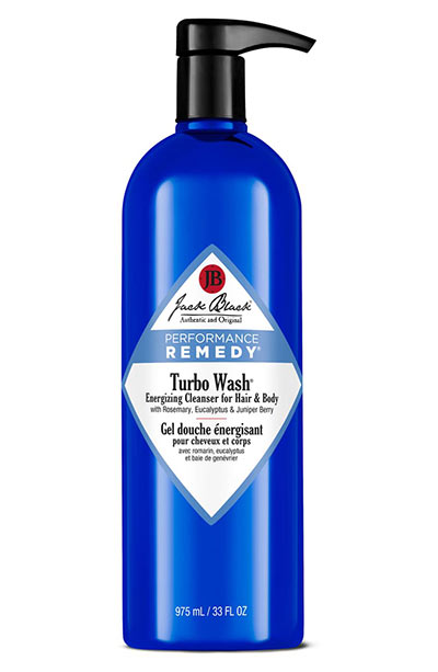 Best Body Washes & Shower Gels: Jack Black Turbo Wash Energizing Cleanser for Hair & Body