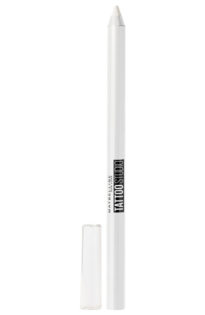 Best White Eyeliners: Maybelline TattoStudio Eyeliner Pencil