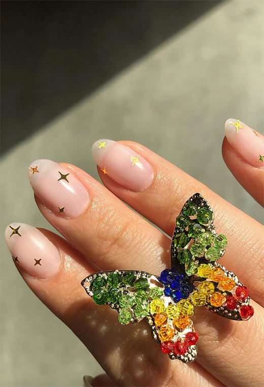 Magical Star Nails: Star Nail Designs & Art Ideas