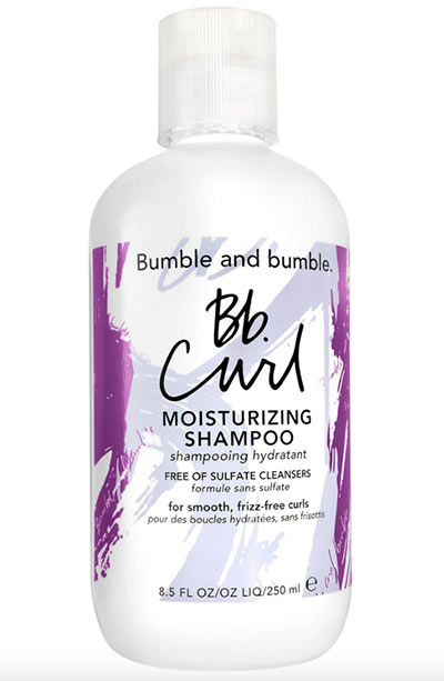 Best Shampoos for Curly Hair: Bumble and Bumble Curl Moisturizing Shampoo