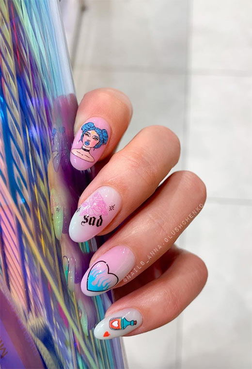 Tips for Grooming Long Nails