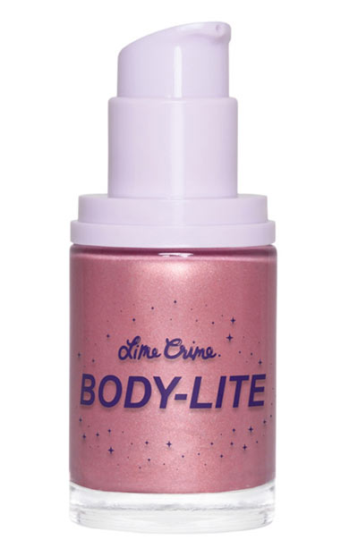 Best Body Glitter & Shimmer Products: Lime Crime Body Lite