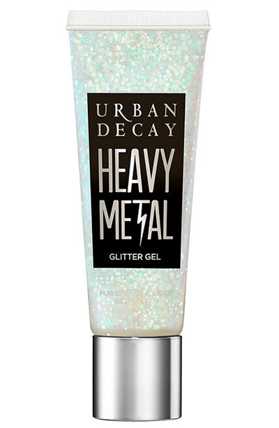 Best Body Glitter & Shimmer Products: Urban Decay Sparkle Out Loud Heavy Metal Glitter Gel