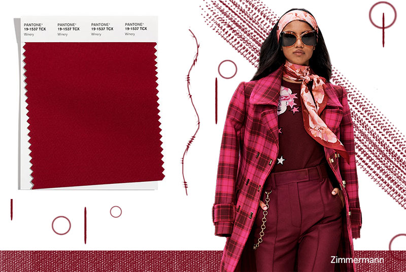 Fall/ Winter 2021-2022 Pantone Color Trends: Winery